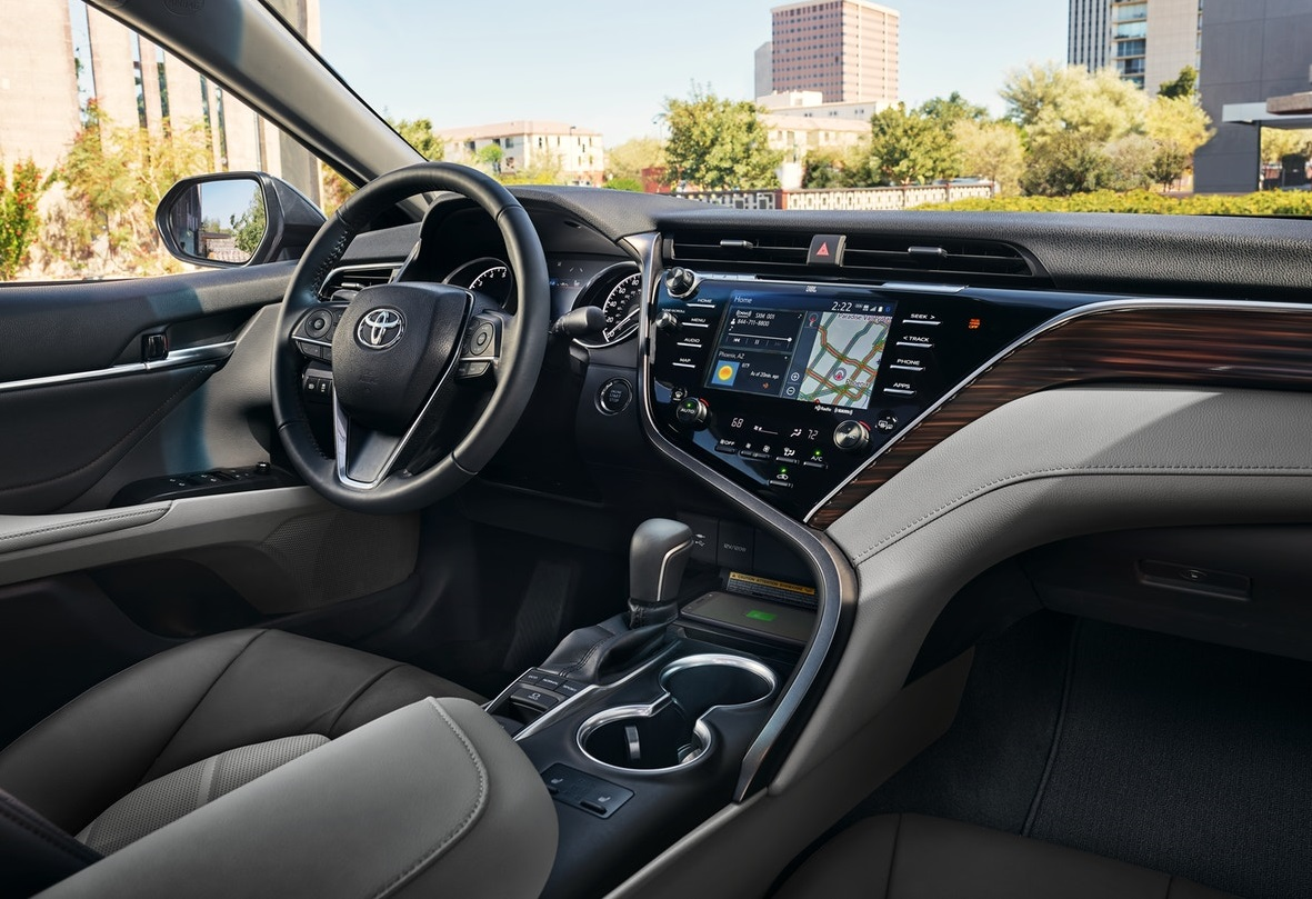 Toyota Camry 2018 Interior >> Interior 2018 Toyota Camry By Columbia Sc Florence
