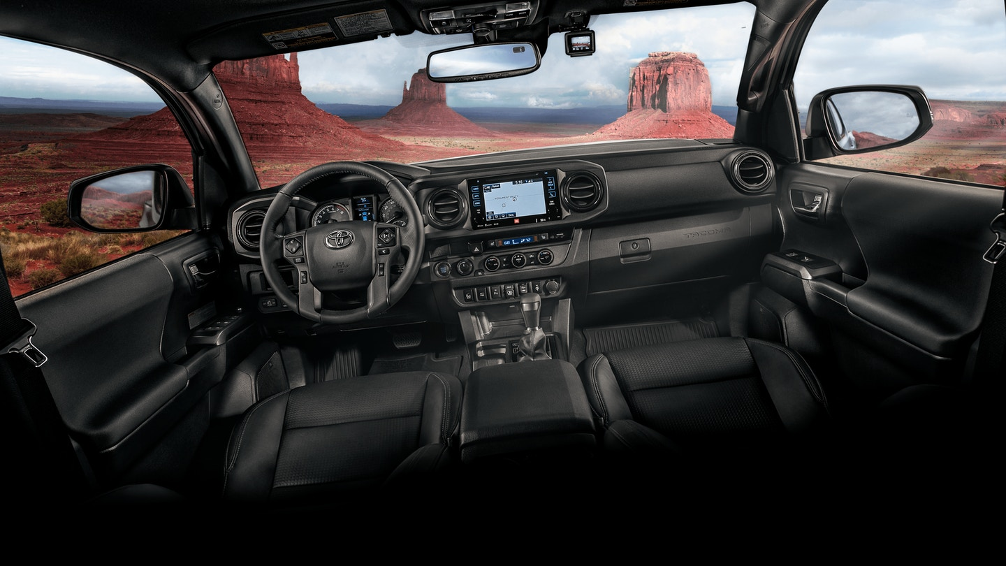 Interior 2018 Toyota Tacoma By Columbia Sc Florence Toyota Blog