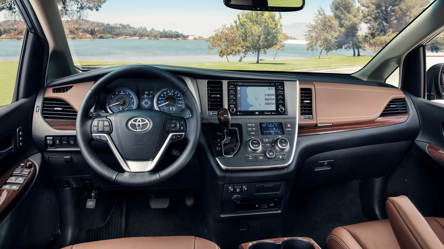 Toyota Sienna 2018 Interior Best New Cars For 2018
